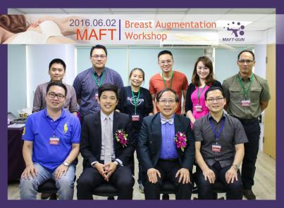 Breast Augmentations Workshops, Taiwan